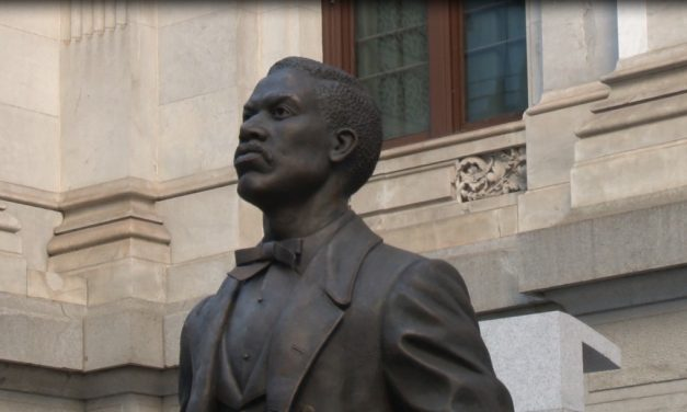 THERE'S A NEW MONUMENT IN TOWN – THE FIRST TO HONOR A BLACK PERSON IN PHILADELPHIA